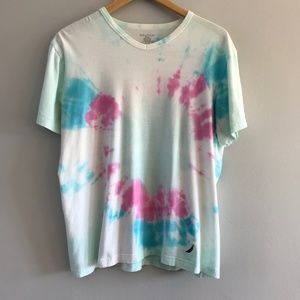 Nautica Tie Dye V-Neck T-Shirt M